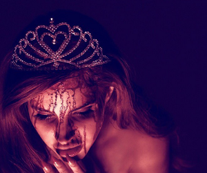 lana del rey, blood, and carrie image