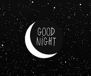 good night, moon, and wallpaper image