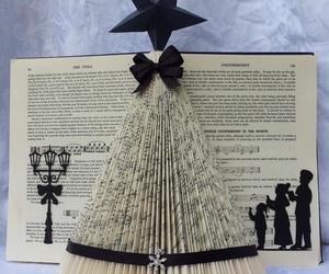 art, book, and christmas image