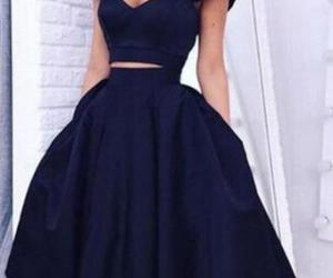 fashion, prom dress, and homecoming dress image