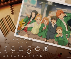 anime, orange, and kawaii image
