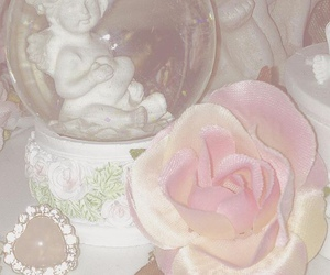 pink, soft, and theme image