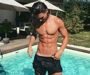 boy, sexy, and abs image