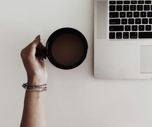 coffee and laptop image