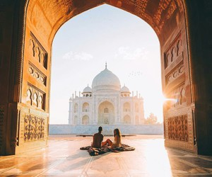 love, couple, and india image