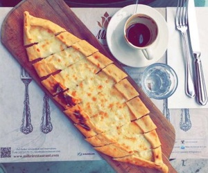 breakfast, ريوق, and coffee image