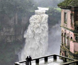 colombia and waterfall image