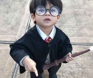 baby, Halloween, and harry potter image