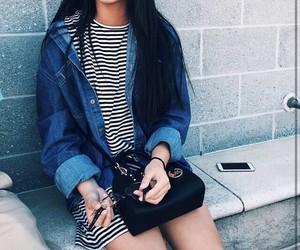 fashion, dress, and smile image