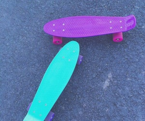 weheartit and pennyboard image