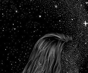 wallpaper, stars, and couple image