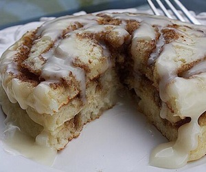 food, pancakes, and Cinnamon image