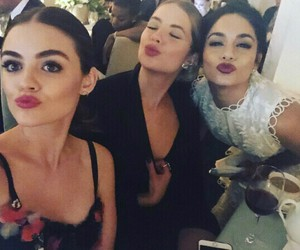 lucy hale, vanessa hudgens, and ashley benson image