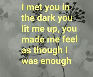 Lyrics and say you won't let go image