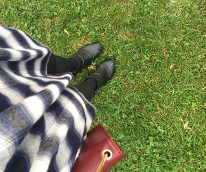 boots, burgundy, and fashion image