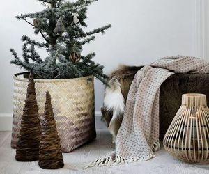 christmas, interior, and living image