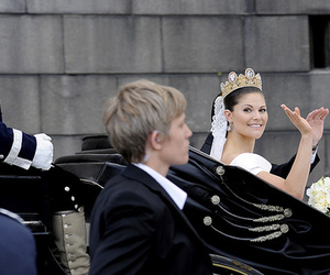 royal wedding, royalty, and sweden image