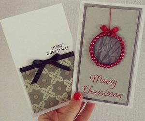 cards, christmas, and design image