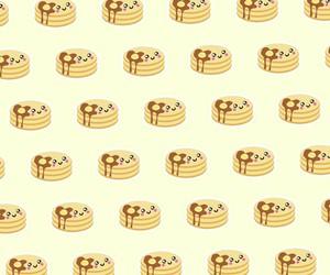 pancakes, pattern, and sweet image