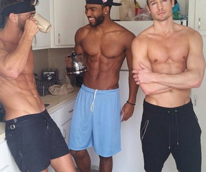 body, gym, and kitchen image