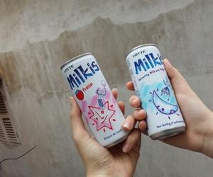 korea, korean food, and milkis image