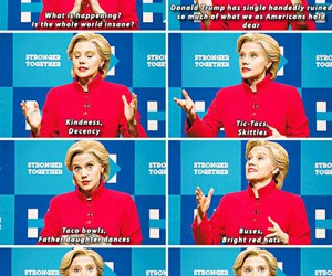 election, funny, and Hillary Clinton image