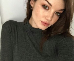 aesthetic, model, and selfie image