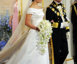 royal wedding, wedding, and crown princess victoria image
