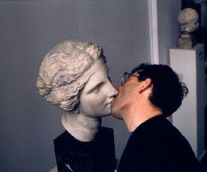 kiss, statue, and art image