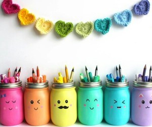 colors, diy, and rainbow image