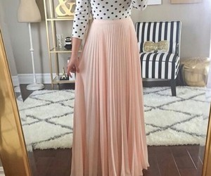 style, dress, and pink image