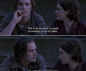 quotes, coffee, and movie image