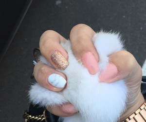 fake nails, manicure, and Michael Kors image