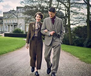 matt smith, the crown, and claire foy image
