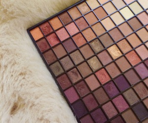 autumn, brown, and eyeshadow image
