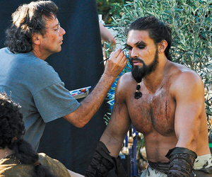 behind the scenes, hbo, and jason momoa image