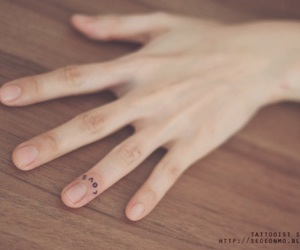 love, minimalist, and nails image