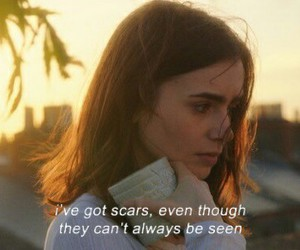 movie, sad, and lily collins image