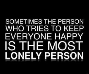 lonely, quotes, and happy image