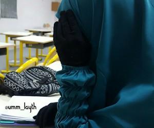 beauty, islam, and niqab image
