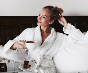 coffee, beauty, and morning image
