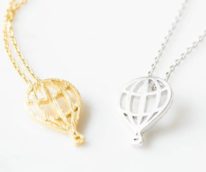 crystal necklace, pendants, and charm necklace image