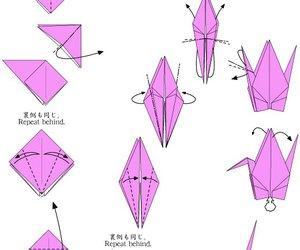 diy, cigno, and origami image
