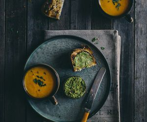 carrot, food, and soup image