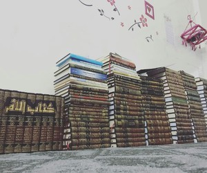 books, islam, and library image