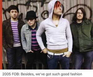 band, emo, and fall out boy image