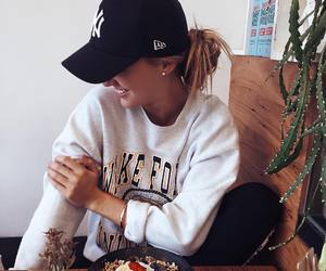 fashion, food, and cap image