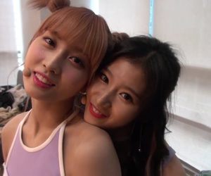 girl, mina, and jihyo image