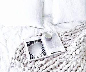 white, home, and coffee image