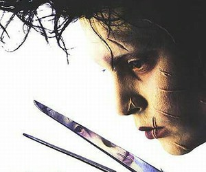 edward scissorhands, movie, and tim burton image